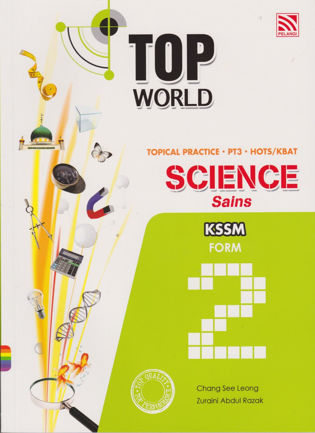 Pelangi-Top World: Science Form 2-9789830088136-BukuDBP.com