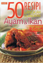 Load image into Gallery viewer, Qaff Publications-50 Resepi Langkah Demi Langkah Ayam & Ikan-9789675490910-BukuDBP.com