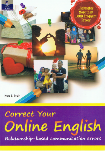 SAP Pendidikan-Correct Your Online English Relationship - Based Communication Errors-9789673215225-BukuDBP.com