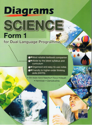 SAP Pendidikan-Diagrams Science Form 1 For Dual Language Programme-9789673216482-BukuDBP.com