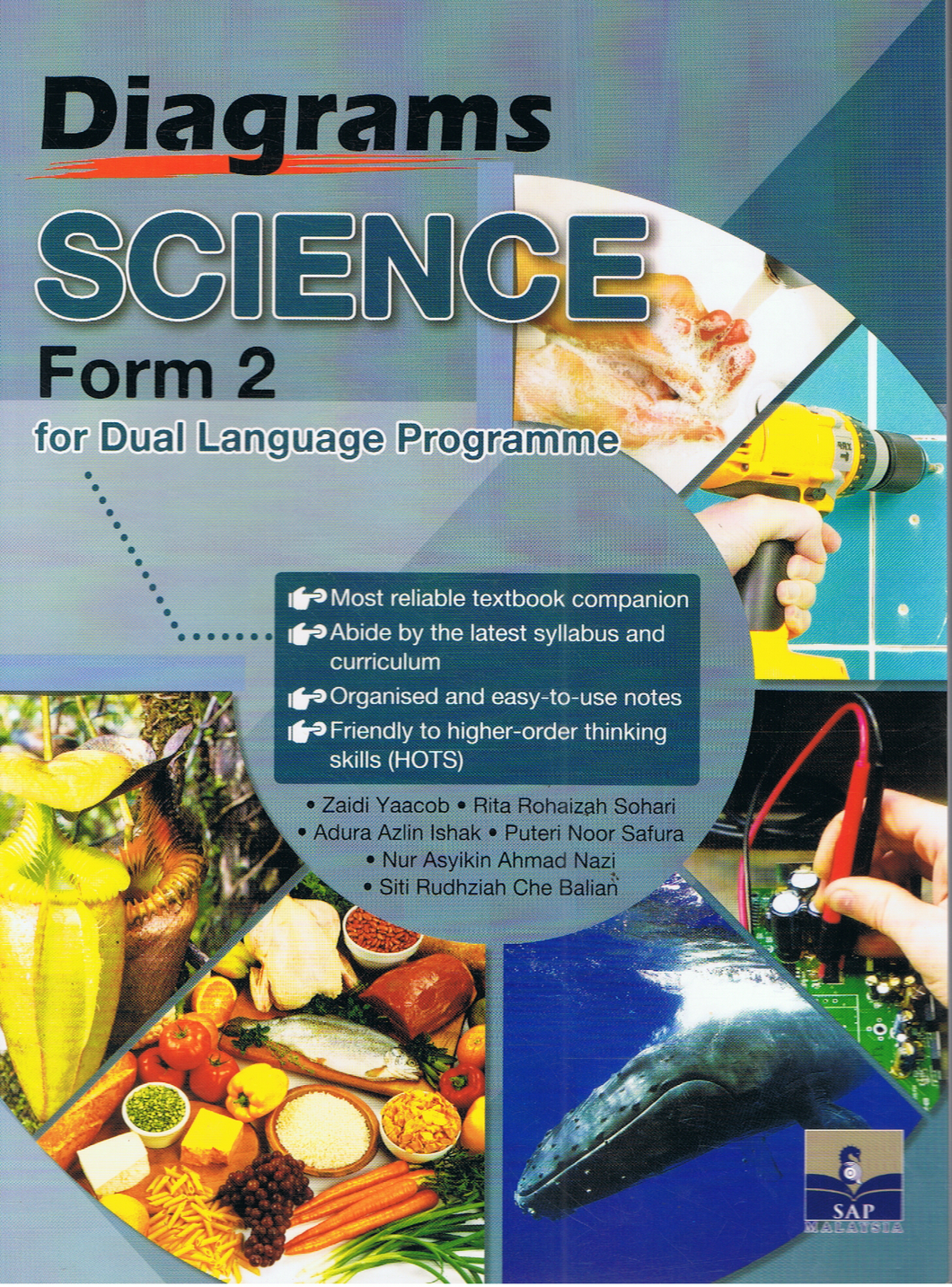 SAP Pendidikan-Diagrams Science Form 2 For Dual Language Programme-9789673216499-BukuDBP.com