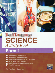 SAP Pendidikan-Dual Language Science Activity Book Form 1-9789673216321-BukuDBP.com