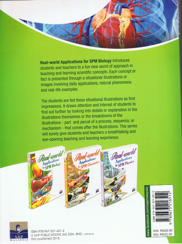 SAP Pendidikan-Real-World Applications For SPM Biology-9789673216512-BukuDBP.com