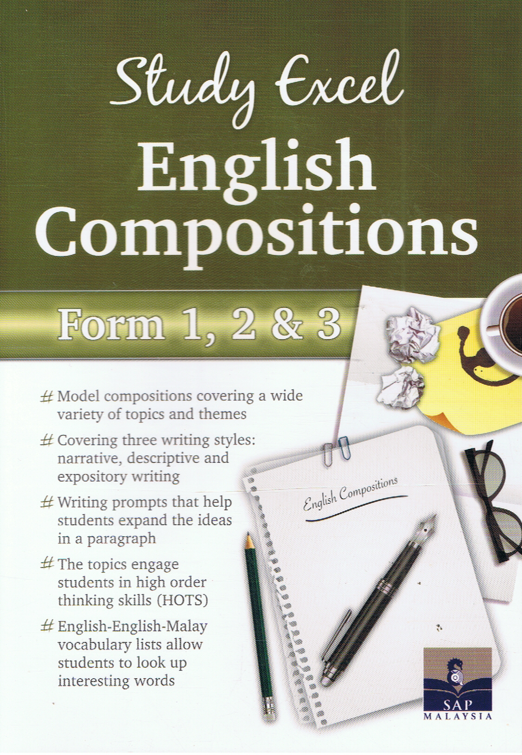 SAP Pendidikan-Study Excel English Composition Form 1,2&3-9789673215690-BukuDBP.com