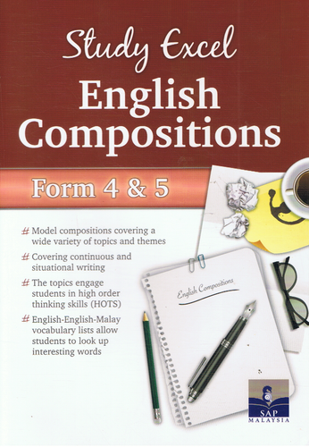 SAP Pendidikan-Study Excel English Composition Form 4&5-9789673215706-BukuDBP.com