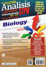 Load image into Gallery viewer, Sasbadi-Analisis Bertopik STPM 2013-2017: Biology (Term 2)-9789835999079-BukuDBP.com