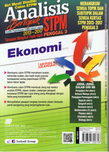 Load image into Gallery viewer, Sasbadi-Analisis Bertopik STPM 2013-2017: Ekonomi (Penggal 3)-9789837700758-BukuDBP.com