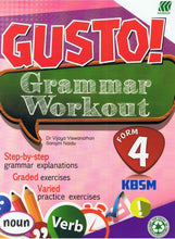 Load image into Gallery viewer, Sasbadi-GUSTO ! Grammar Workout Form.4-9789835996788-BukuDBP.com