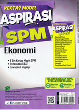 Load image into Gallery viewer, Sasbadi-Kertas Model Aspirasi SPM: Ekonomi-9789837702059-BukuDBP.com