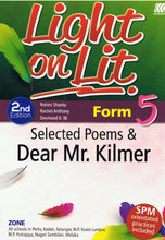 Load image into Gallery viewer, Sasbadi-Light On Lit: Selected Poems & Dear Mr.Kilmer Form 5-9789835989346-BukuDBP.com