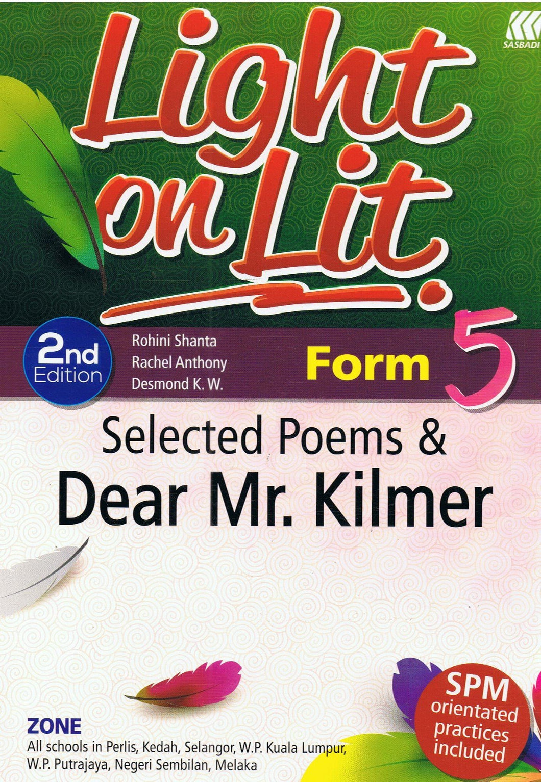 Sasbadi-Light On Lit: Selected Poems & Dear Mr.Kilmer Form 5-9789835989346-BukuDBP.com