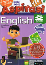 Load image into Gallery viewer, Sasbadi-Super Skills Modul Aktiviti Aspirasi A+: English Year 2-9789835994531-BukuDBP.com