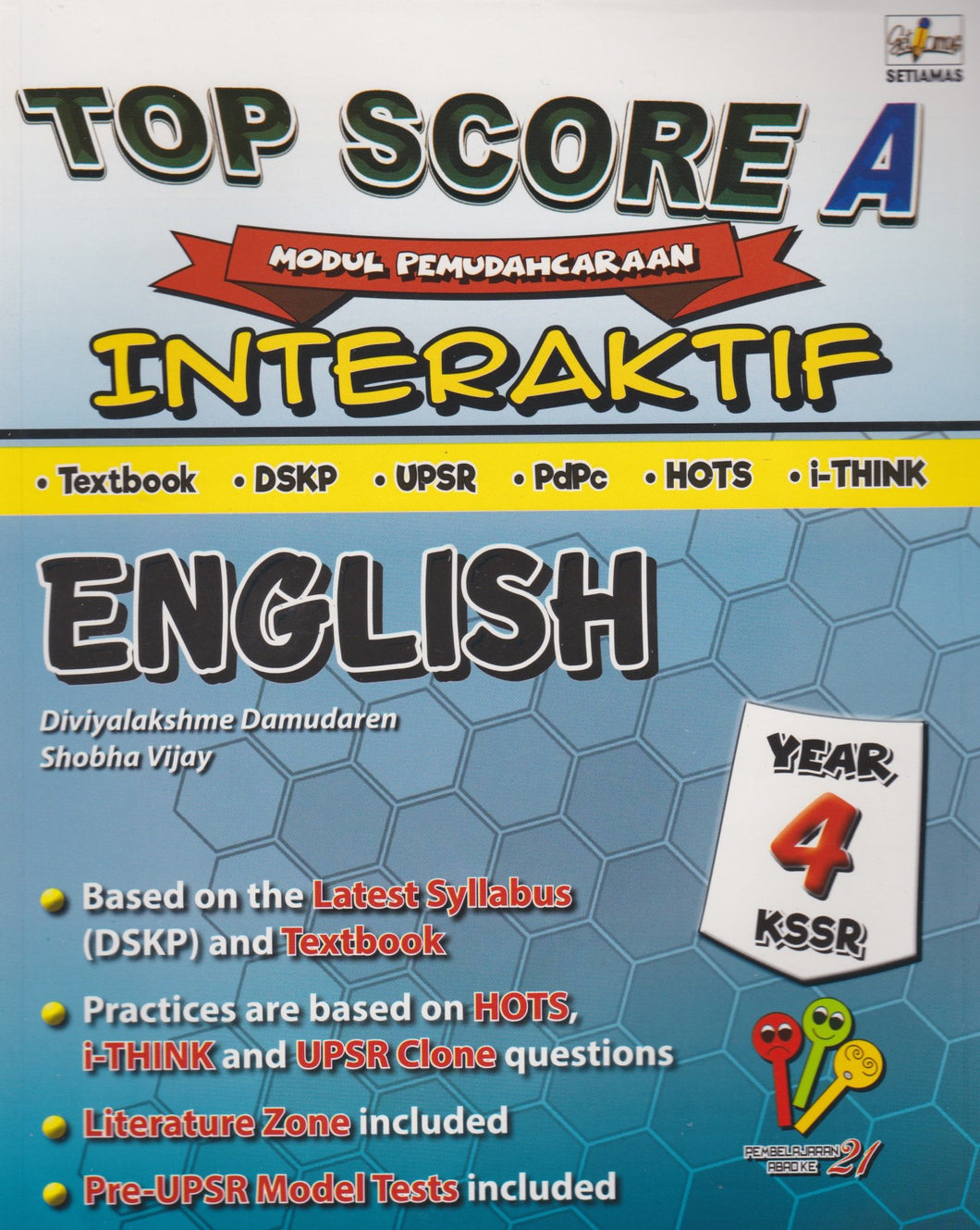 Setiamas-Top Score A Interaktif: English Year 4-9789672094081-BukuDBP.com
