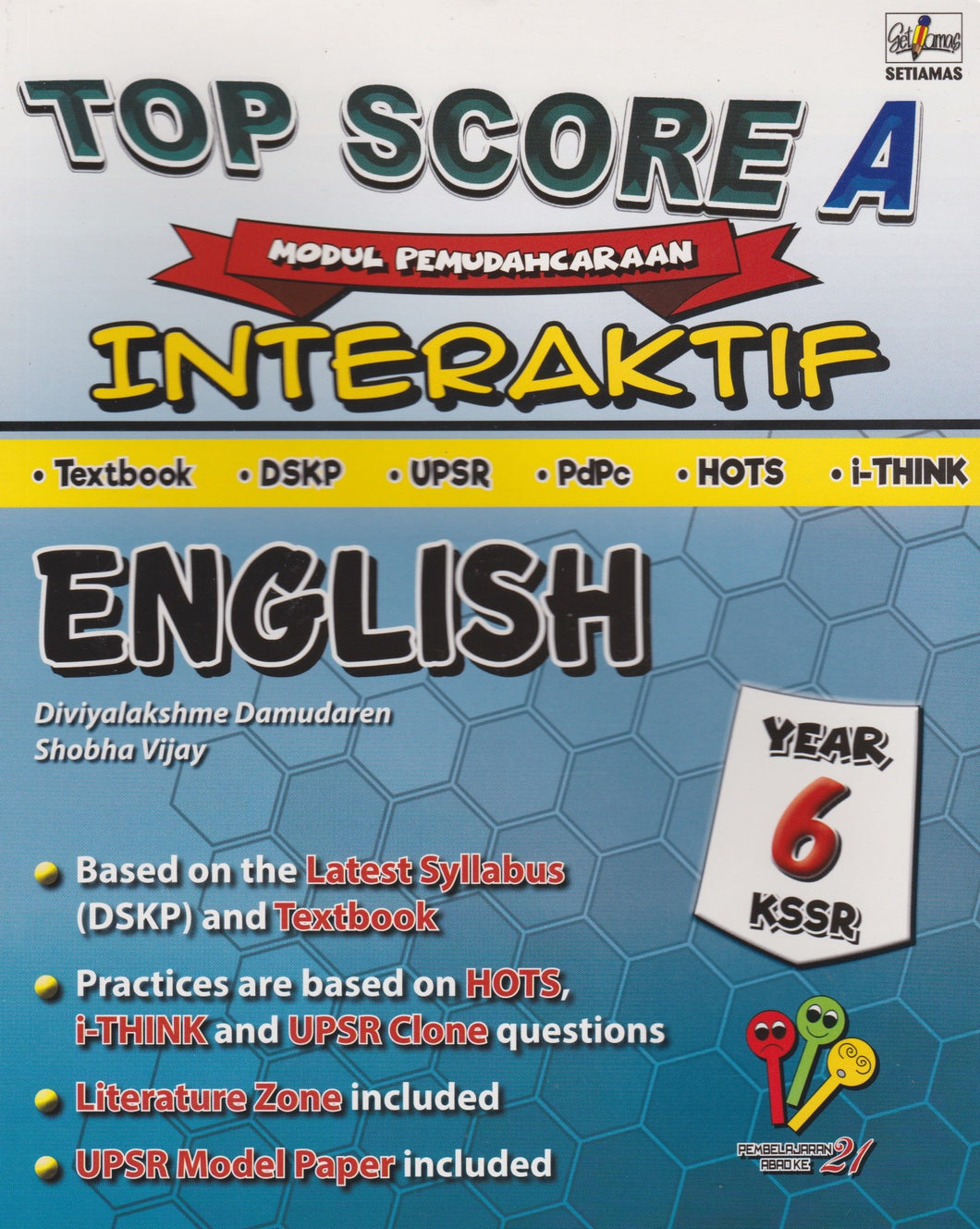 Setiamas-Top Score A Interaktif: English Year 6-9789672094104-BukuDBP.com
