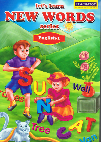 Teachatot Publications-Let's Learn New Words Series: English-1-9789675838149-BukuDBP.com