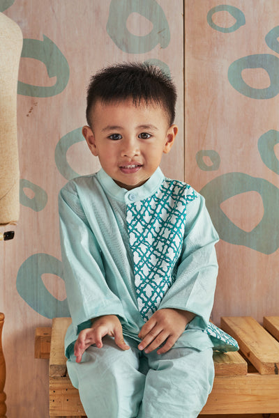 Aden Boy's Kurung (Mint)