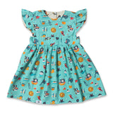 Ahoy Captain Reversible Babydoll Dress