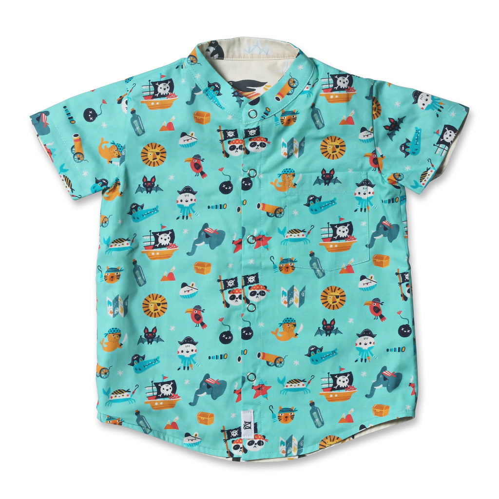 Ahoy Captain Reversible Shirt