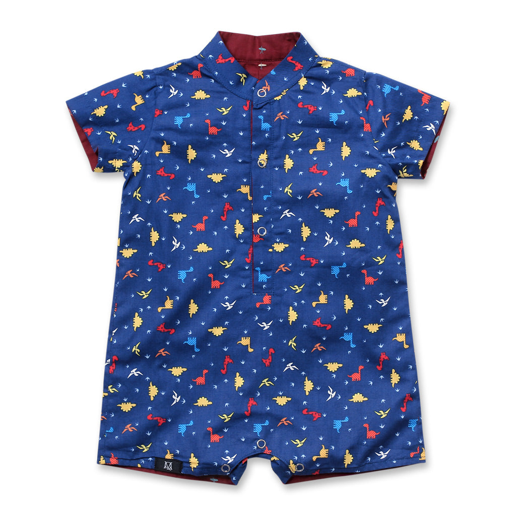 Dinorawr Boy Onesie (Navy)