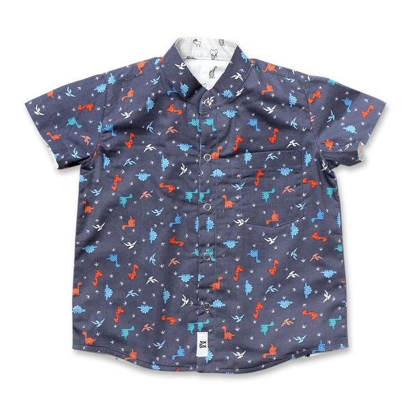 Dinorawr Reversible Shirt (Grey)