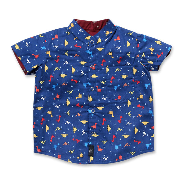 Dinorawr Reversible Shirt (Navy)