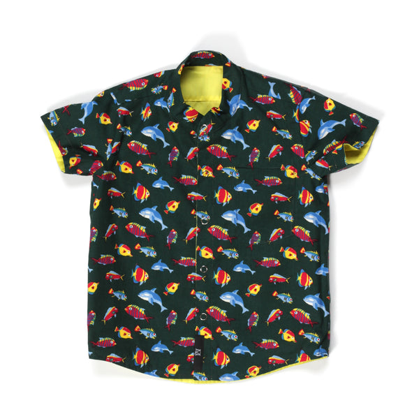 Gone Fishing Reversible Shirt