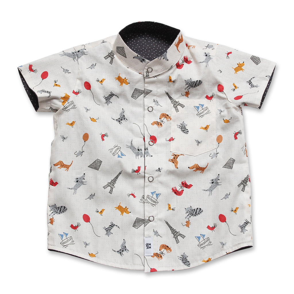 Parisien Reversible Shirt