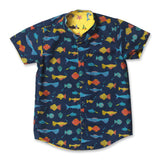 Marine Party Reversible Shirt