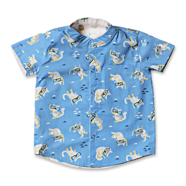 Scubacats Reversible Shirt
