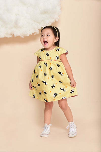 Xiaoxiong Reversible Babydoll Dress