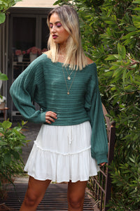 Runway Knit - Forest Green