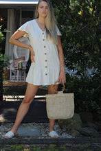 Home Girl Mini Dress - Sand