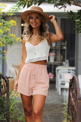 Timeless Shorts - Blush