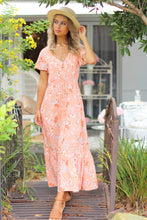 Citrus Zing Maxi Dress