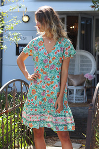 Bali Days Mini Dress