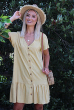 Home Girl Mini Dress - Mustard
