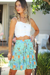 Sunday Rose Mini Skirt