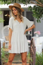 Weekend Escape Mini Dress - Sand
