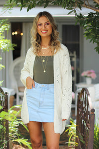 Warm Embrace Cardigan - Cream