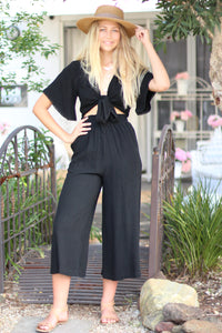 Just Chilling Lounge Pants - Black