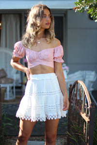 High Tea Crop Top