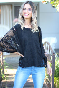 Jolene Top - Black