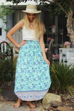 Cool Water Maxi Skirt