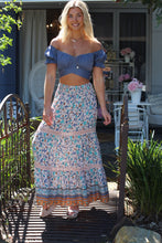 Blue Belle Maxi Skirt