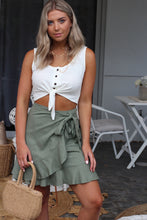 Summer Days Wrap Skirt - Khaki