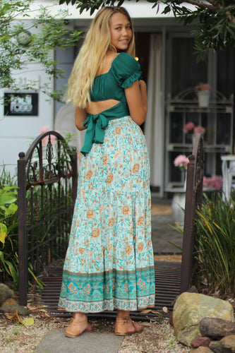 English Rose Maxi Skirt