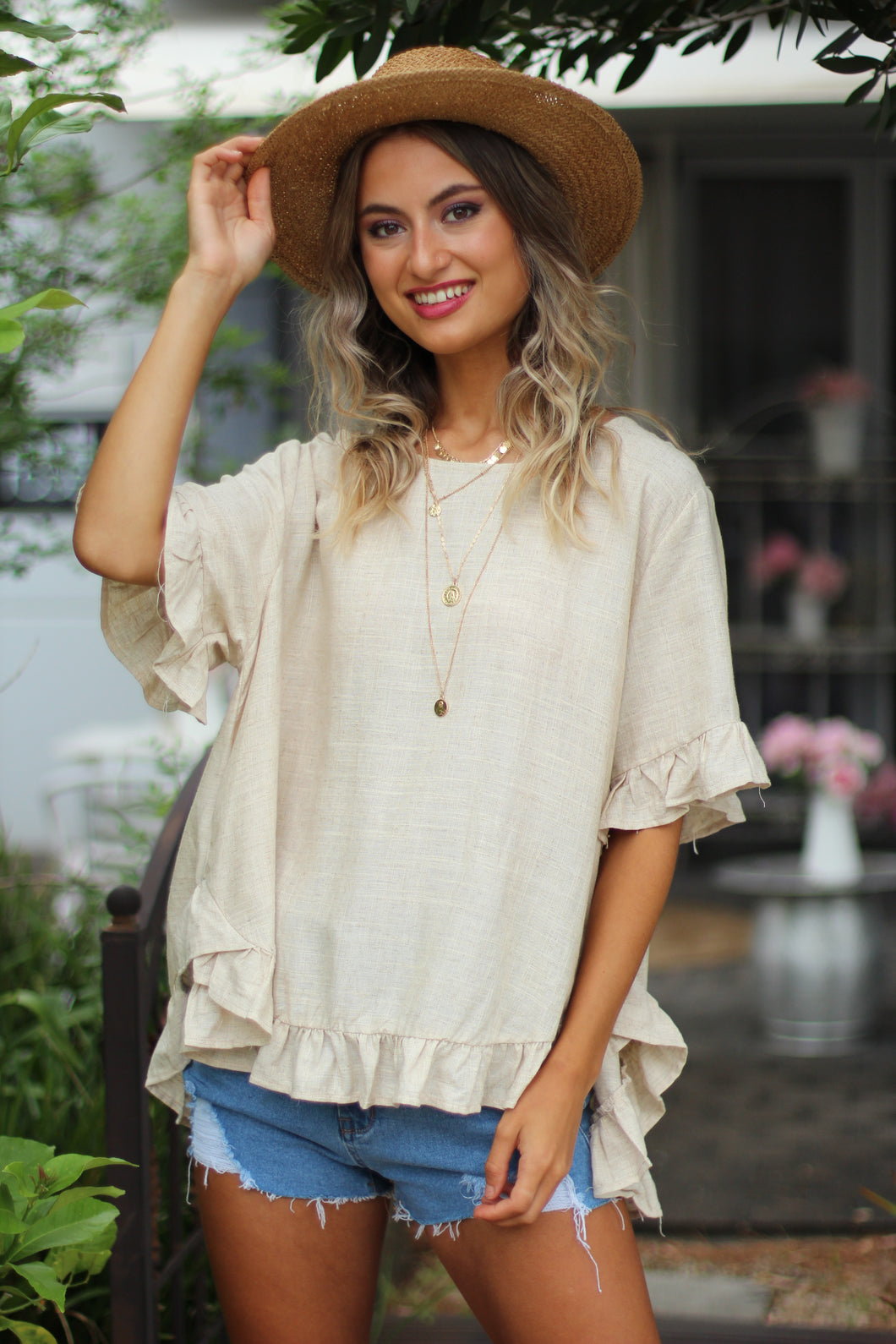 Sisterhood Top - Sand
