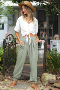The Oaks Lounge Pants - Khaki