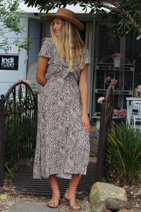 Jungle Fever Maxi Dress