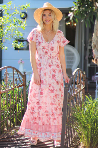 Berry Crush Maxi Dress